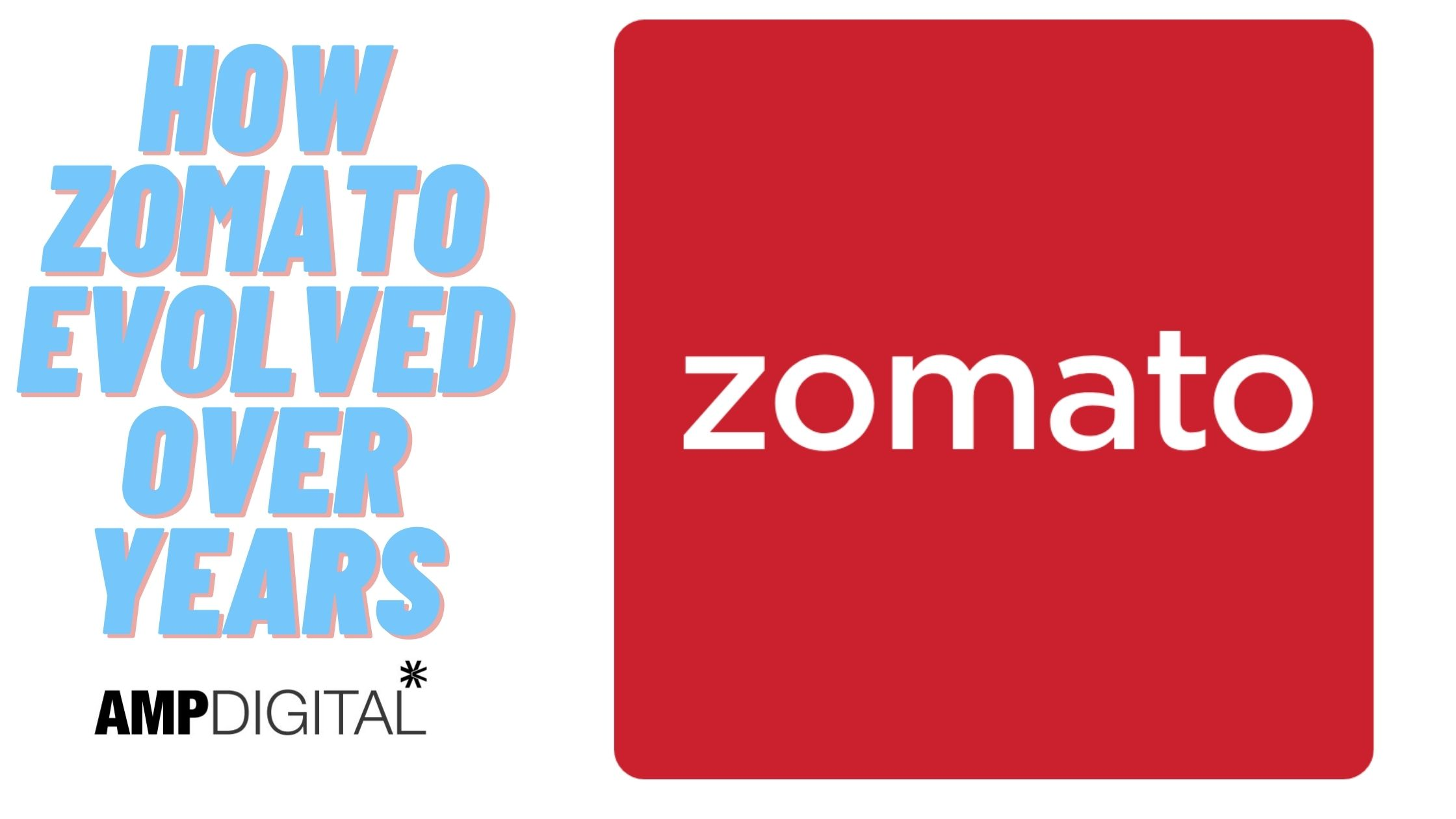 How Zomato Evolved Over The Years
